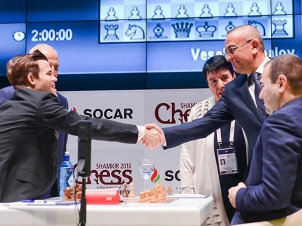 """""""Shamkir Chess 2018"""" heç-heçələrlə başladı"""