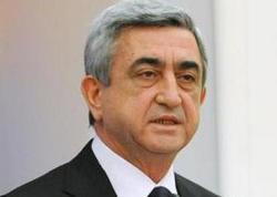 Serj Sarkisyan Dağlıq Qarabağdan danışdı