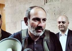 """Nikol Paşinyan: """"Serj Sarkisyan vəziyyətə nəzarət etmir"""""""