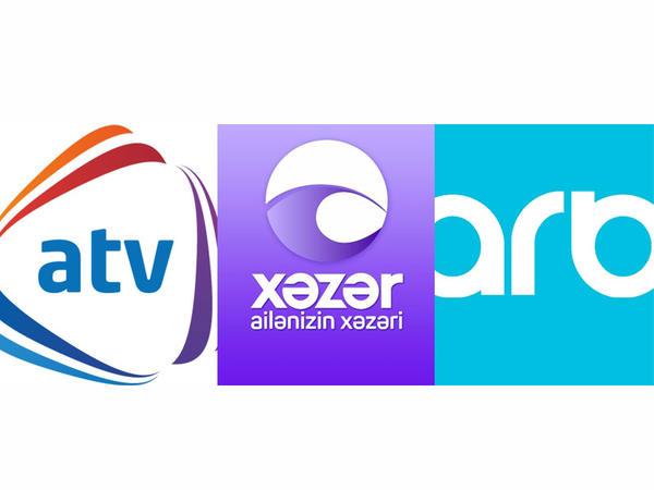 """""""ATV"""", """"Xəzər TV"""" və """"ARB TV""""dən birgə qərar"""