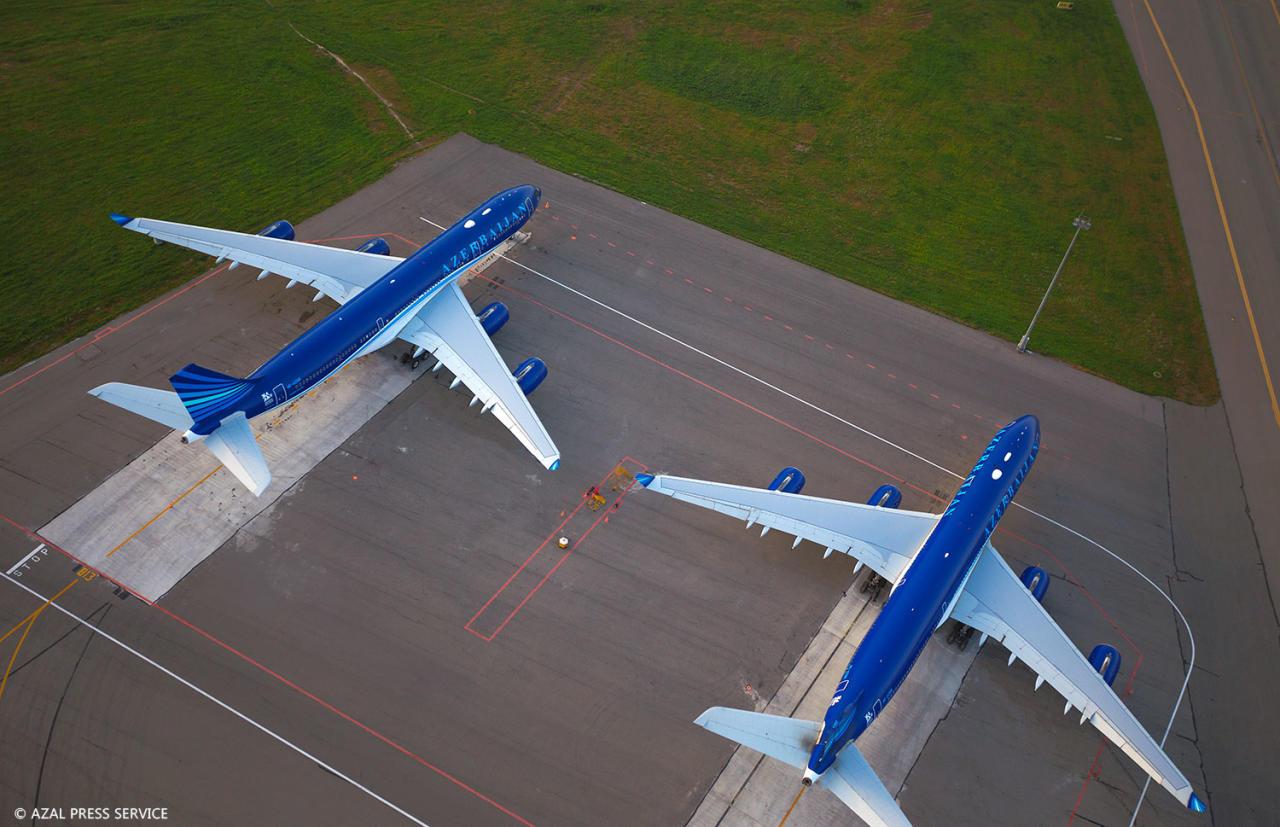 Dünyanın ən gözəl hava limanlarından biri quş uçuşu yüksəkliyindən necə görünür? - FOTO