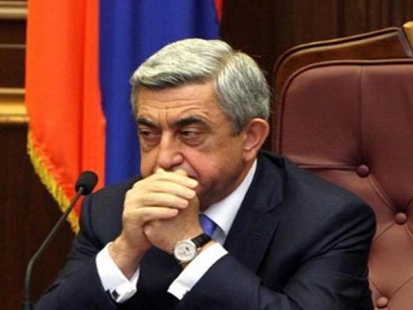 """""""Hakimiyyəti populistlərə güzəştə getdim"""" - <span class=""""color_red"""">Sarkisyan sükutu pozdu</span>"""