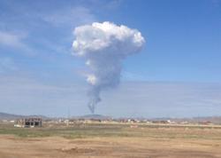 Bakıda palçıq vulkanı püskürdü