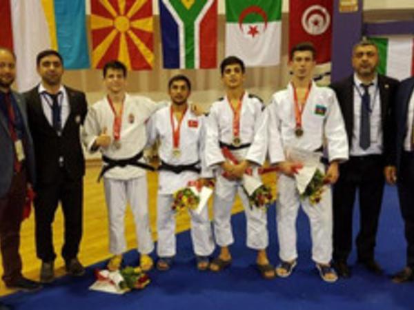 Azərbaycan cüdoçuları Tunisdə 15 medal qazandı