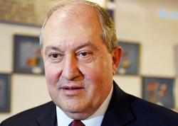 Ermənistan prezidenti etirazçıları dialoqa çağırdı