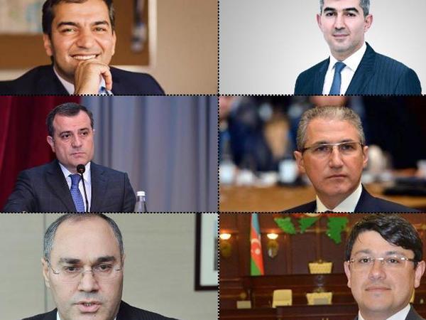 Azərbaycanda yeni nazirlər - FOTO