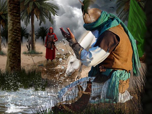 İmam Əli balaca Abbasın qollarından öpüb, ağlyardı…