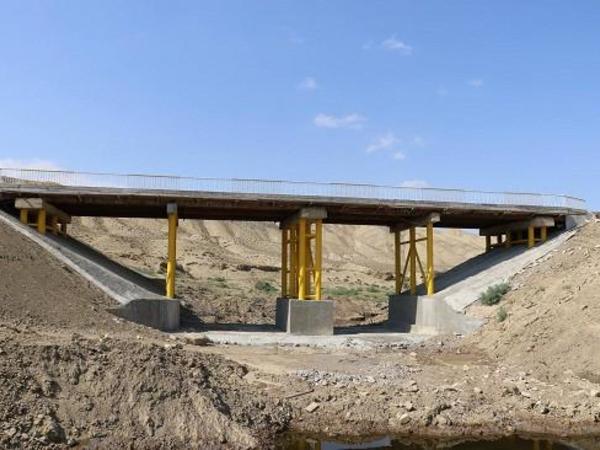 Azərbaycan-Gürcüstan sərhədində yeni körpü inşa olunur