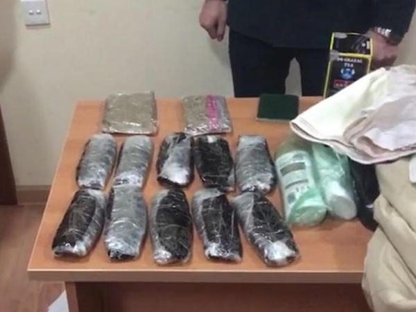 İrandan narkotik vasitələrin Azərbaycana gətirilməsinin qarşısı alındı