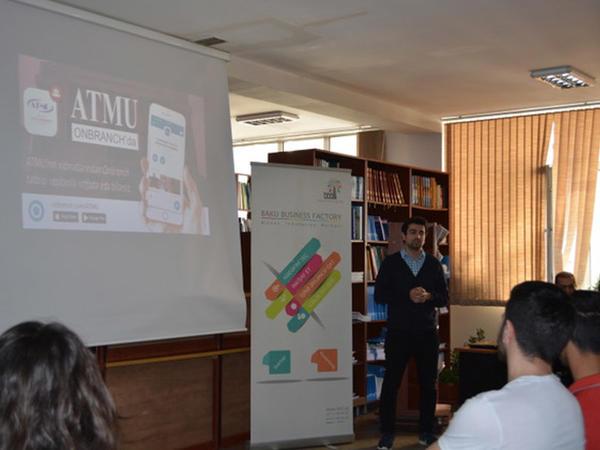 """Sənaye - Universitet əməkdaşlığı çərçivəsində """"Virtual Azərbaycan Turizm və Menecment Universiteti-Onbranch"""" layihəsi"""