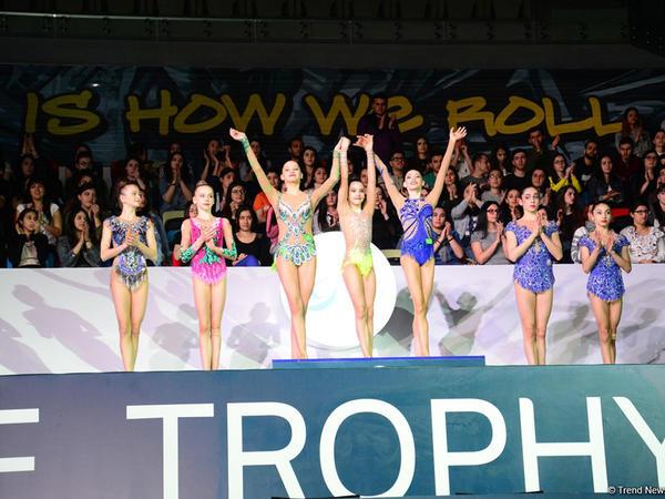 """Azərbaycan gimnastları """"AGF Junior Trophy"""" beynəlxalq turnirinin bürünc medalını qazanıblar - FOTO"""