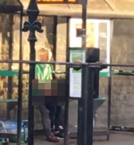 Dayanacaqda əxlaqsızlıq edən 41 yaşlı qadın tutuldu - FOTO