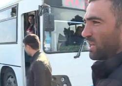 Yeni Ramanada avtobus böhranı yaşanır - VİDEO