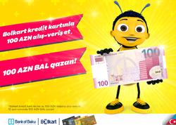 """Bank of Baku-dan Bolkartlılara Cümhuriyyətin 100 illiyinə özəl <span class=""""color_red"""">100% HƏDİYYƏLİ KAMPANİYA!</span>"""