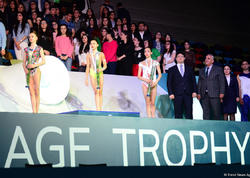 """""""AGF Junior Trophy""""də halqa və topla hərəkətlərdə mükafatlandırma mərasimi keçirilib - FOTO"""