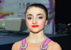 """Azərbaycan gimnastı """"AGF Junior Trophy""""də topla hərəkətlərdə gümüş medal qazanıb"""