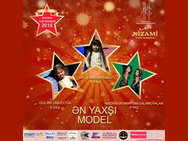 Azerbaijan Golden Kids Awards 2018 layihəsinin ilk nominantları bəlli oldu - FOTO