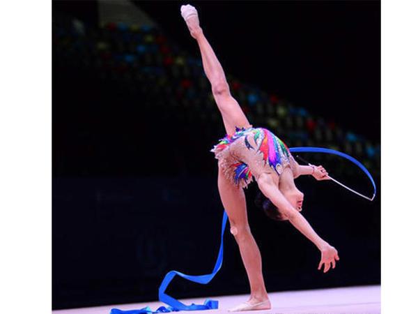 """Azərbaycan gimnastı """"AGF Junior Trophy""""də lentlə hərəkətlərdə qızıl medal qazanıb"""