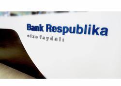 """""""Bank Respublika""""nın depozit portfeli 500 milyon manata qədər artdı"""