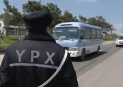 Rayon qeydiyyatlı avtomobillər Bakıya buraxılmır - VİDEO