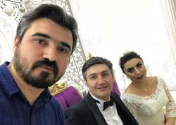 Azərbaycanlı aktyorun toyundan FOTOlar