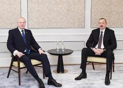 Prezident İlham Əliyev Böyük Britaniyada səfərdədir - FOTO