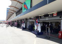 Formula 1 komandalarının Bakıda yarışqabağı son hazırlıqları - FOTO
