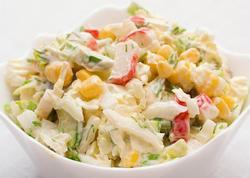 Tez hazırlanan salatlar