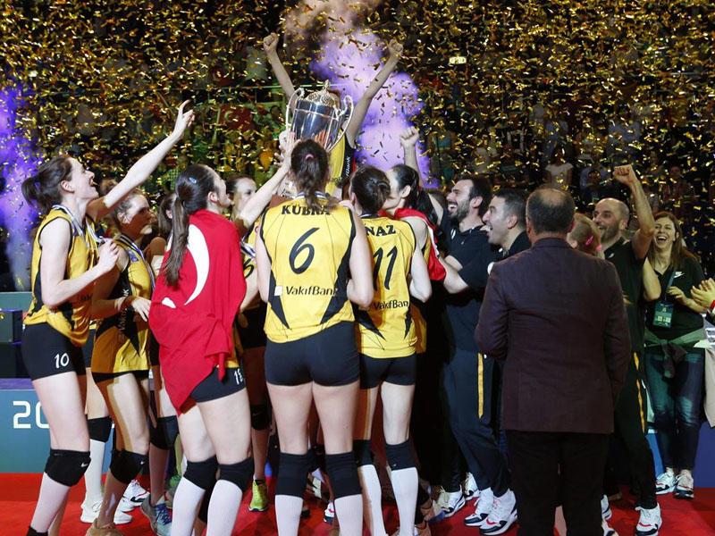 Türkiyə klubu Çempionlar Liqasının qalibi oldu