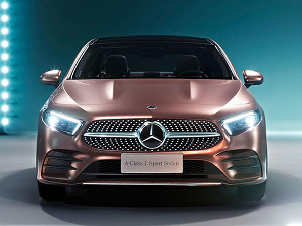 Mercedes-dən kompakt sedan - FOTO