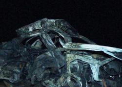Şamaxı sakini avtomobili dərəyə aşırıb