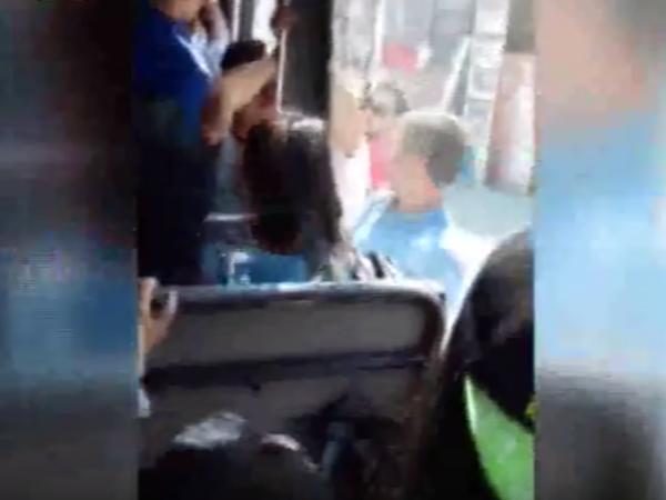 Bakıda daha bir avtobus biabırçılığı - VİDEO