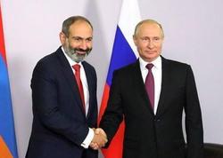 """Putinlə Qarabağı müzakirə etmişik - <span class=""""color_red"""">Paşinyan</span>"""