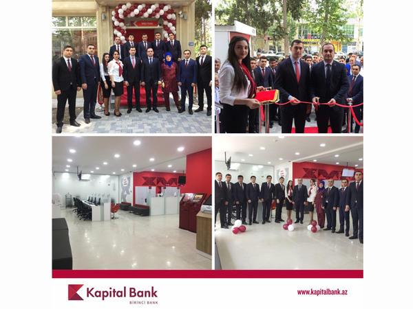 Kapital Bank-ın yenilənən İmişli filialı istifadəyə verildi