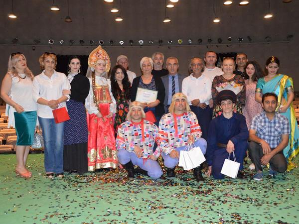 Vladiqafqaz teatrının  Bakıya qastrol səfəri başa çatıb