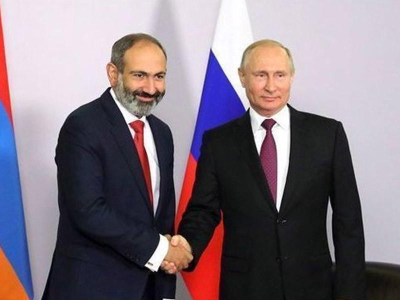 Putinlə Qarabağı müzakirə etmişik - Paşinyan