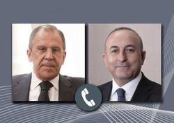 Çavuşoğlu Lavrovla telefonla danışdı