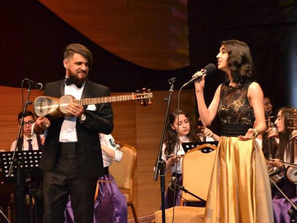 Beynəlxalq Muğam Mərkəzində Milli Kamera Ansamblının konserti keçirilib - FOTO
