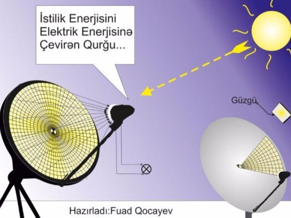 Bakıda 9-cu sinif şagirdi alternativ enerji ilə bağlı yeni layihə hazırlayıb - VİDEO