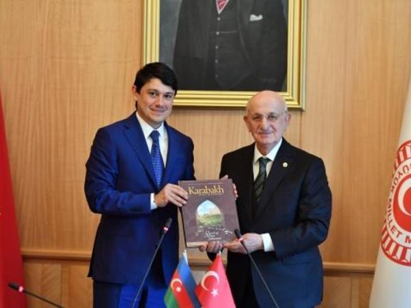 """İsmayıl Qəhrəman: """"Qarabağ bizim milli məsələmizdir"""" - FOTO"""