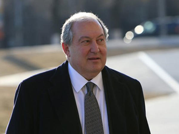 Ermənistan prezidenti Gürcüstana getdi