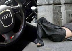 "Bakıda şok olay: Biznesmen ""bomj"" atasının dalınca morqa 150 minlik maşında gəldi"