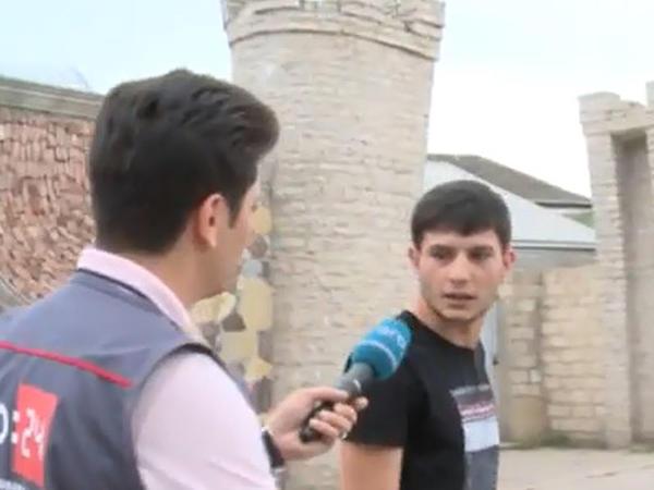 """""""Səni tapacam, baxarsan"""" - Reyd zamanı jurnalistə hədə-qorxu gəldilər - VİDEO - FOTO"""