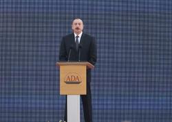 Azərbaycan Prezidenti: Biz heç bir ölkənin daxili işinə qarışmırıq və eyni yanaşmanı bütün ölkələrdən gözləyirik