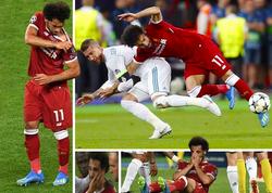 """""""Ramos Salahı qəsdən zədələdi"""" - <span class=""""color_red"""">FOTO</span>"""