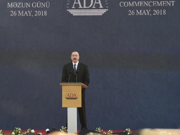 Prezident İlham Əliyev: Əsas vəzifəmiz ondan ibarət olmalıdır ki, Azərbaycanda təhsilin səviyyəsi beynəlxalq standartlara cavab versin