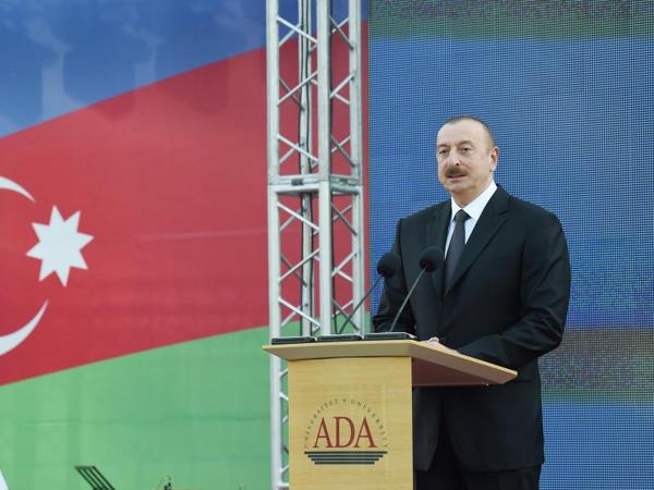 Prezident İlham Əliyev: Biz bundan sonra da Dağlıq Qarabağ münaqişəsi ilə bağlı prinsipial siyasət aparacağıq