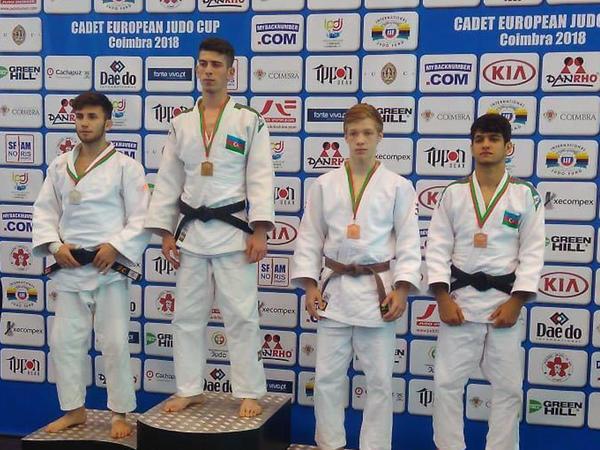 Cüdoçularımız Avropa kubokunda 8 medal qazanıblar - FOTO