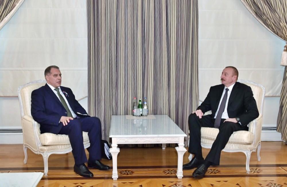Prezident İlham Əliyev Qaz İxrac Edən Ölkələr Forumunun baş katibini qəbul edib