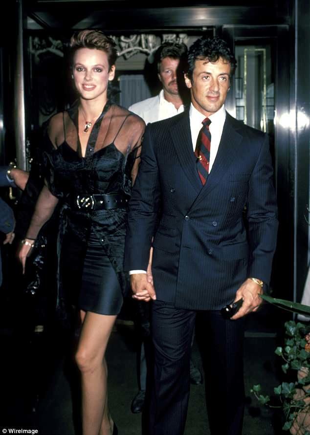 Stallonenin 54 yaşlı sabiq arvadı hamilədir - FOTO
